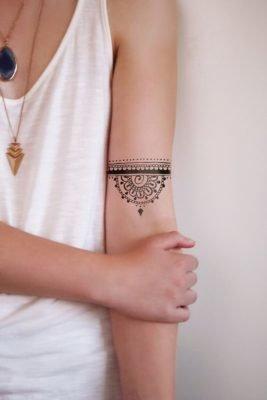 聪明的你,一定已经开始著手找寻喜欢的曼陀罗图案,组成纹身贴纸,计画